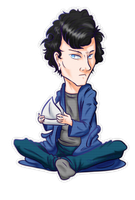 Sherlock by ParallelPenguins