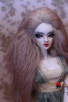 new face-up for Eva by SelenaAdorian