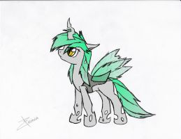 Xeirla the Changeling OC (color) by Xeirla