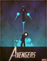 avengers old poster by Dark-j0n