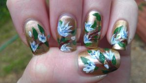 Freehand Flowers by rabbithat8