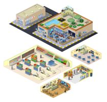 I am the master of isometric by kevinwalker