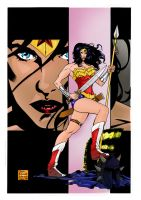wonder woman color by jorgecopo