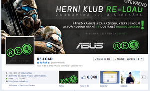 RE-LOAD - FB page by Ingnition