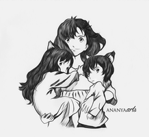 Wolf Children by AnanyaArts