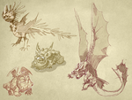 Our Dragons! by cheepers