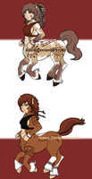 Fem. Centaurs SOLD by Innuo