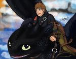Httyd2- Flying Free by HikariNinjaX