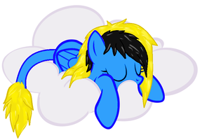 Mlp Sleeping by DannyTheUndeadBrony