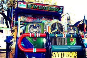Jeepney in Vintage by iceconyelo