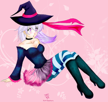 Original sexy witch by Kiri-Yami