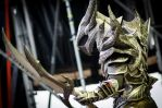 Cosplay Dovahkiin Daedric full armor from Skyrim by Zerios88