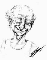 Old guy by coolseba