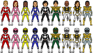 Mighty Morphin Power Rangers Neo Revised by Omniferis