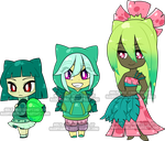 Chibi Pokegijinka Adoptable2 by Sakuyamon