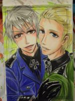 Germanbrothers -  Hetalia by MelindaPhantomhive