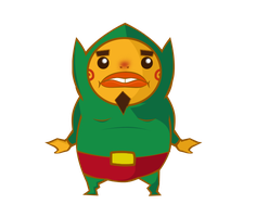 Tingle goron by BlueBubble-L