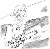 Nausicaa e Teto by joe-7