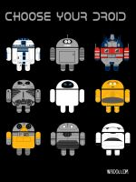 Choose your Droid by WirdouDesigns