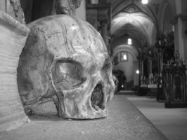 Marble Skull by happinessdragon