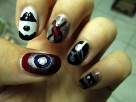 Robert Downey Jr. Nails by aniapaluch
