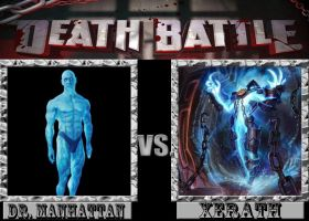 Death Battle: Dr. Manhattan Vs. Xerath by M60RPD