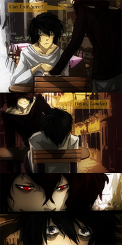 Death Note: unexpected meet by flaiil