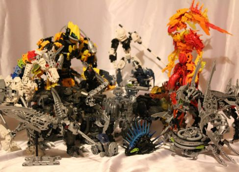 Bionicle MOCs - June 2011 by Rahiden