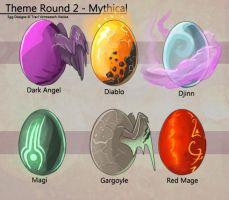 Egg Adoptable Themed Round - Mythical (All Gone!) by Ulario