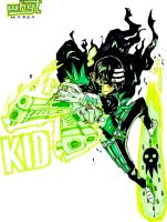 Green Lantern The Kid by odunze