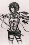UPDATED! M I k a s a ACKERMAN [SnK] by 6LoveMeCANCEROUSLY9
