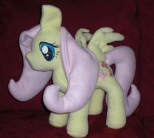 Fluttershy Plush by AniPirates