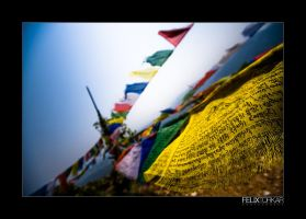 Prayer Flags again... by FelixTo