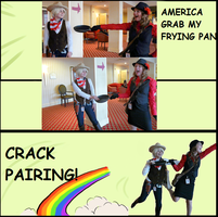 AMERICA GRAB MY FRYING PAN by HoPeFrEnZy