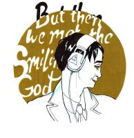 But then we met the Smiling God by valo-rose