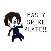 Aristotle vs MASHY SPIKE PLATE - Portal 2 by Teddie-Chan