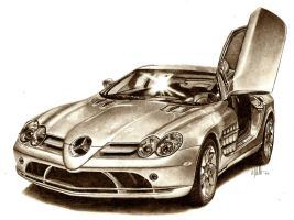 mclaren mercedes slr by tin23uk