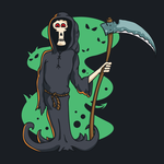 Free vector death character by pixaroma