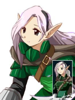 Character Maker Sample Elf by xdanond