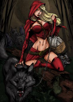 Red Riding Hood by HrnArt