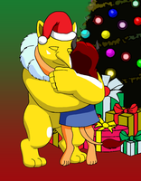 Holiday Hugs for Hypno by BennytheBeast