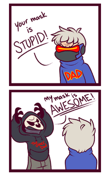 DD67: Reaper's Mask is the Best by LadySiggy