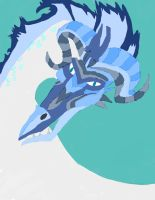 Ice Dragon Make No Pen by daylover1313