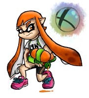Splat-tack that Smash Ball! by SuperLakitu