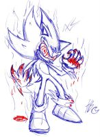 Crazy Super Sonic by Auroblaze