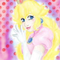 OMG ITS LYKE, PRINCESS PEACH by everything-anime