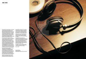 Sony Annual Report Spread 2 by live-without-borders
