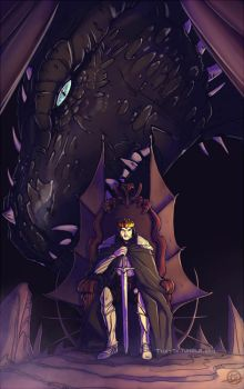 The King and The Dragon by Ticcy