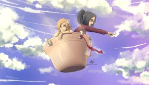 Flying cup by YuSePe