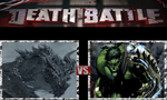 Alduin the World Eater vs. The Incredible Hulk by ScarecrowsMainFan